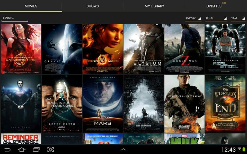 how to watch tv series on android box